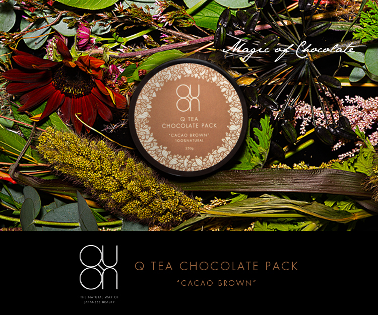 Q TEA CHOCOLATE PACK CACAO BROWN